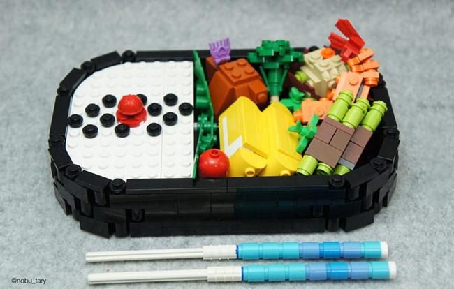 Nghệ sĩ xếp hình khéo léo biến hóa lego thành các món ăn ngon mắt - Ảnh 5.