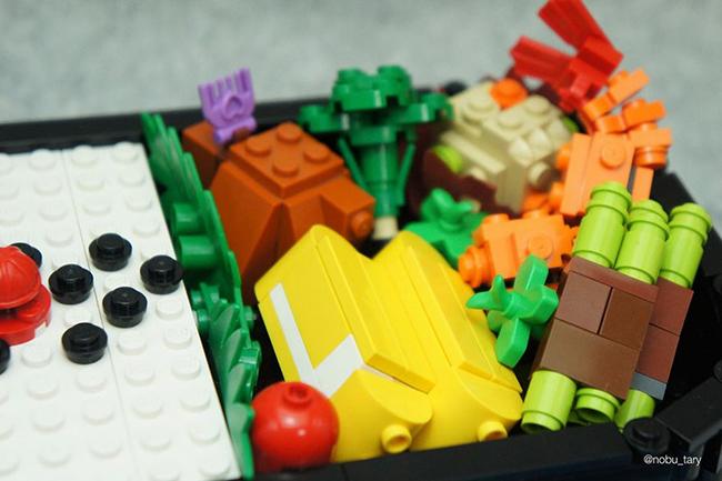 Nghệ sĩ xếp hình khéo léo biến hóa lego thành các món ăn ngon mắt - Ảnh 6.