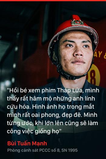 Năm 18 tuổi – Nếu được chọn, bạn có theo nghề lính cứu hỏa như những chàng trai dũng cảm này không? - Ảnh 6.