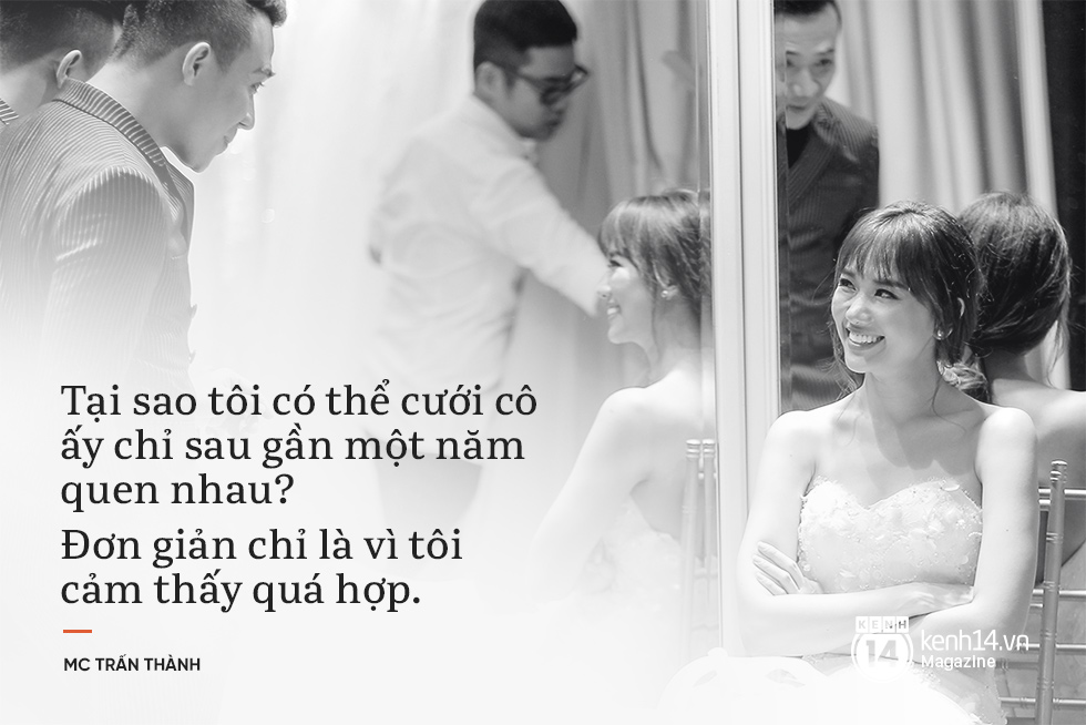Trấn Thành: Từng căm thù hôn nhân nhưng tôi muốn là một gia đình với Hari - Ảnh 8.