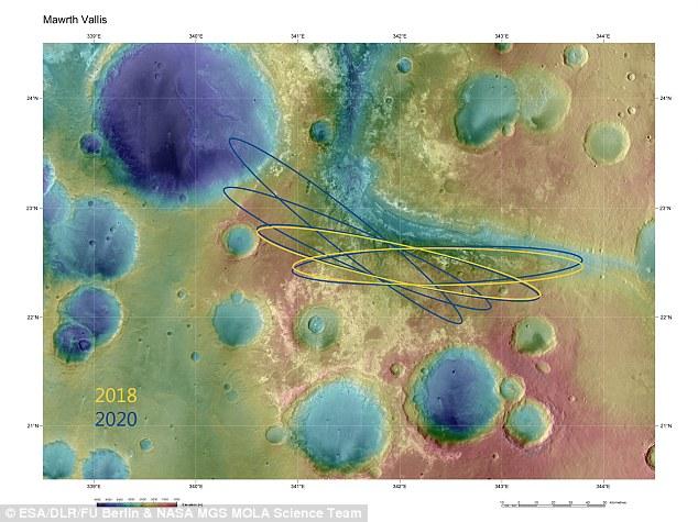 Theo giới khoa học, cách đây khoảng 3,6 tỷ năm, thung lũng Mawrth Vallis lớn nhất Sao Hỏa này - dài 600km, rộng 2km- từng tồn tại sự sống