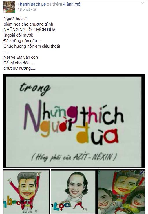 MC Thanh Bạch đăng status ẩn ý trên facebook sau khi bị vợ cũ tố từng dùng dao rượt chém - Ảnh 1.