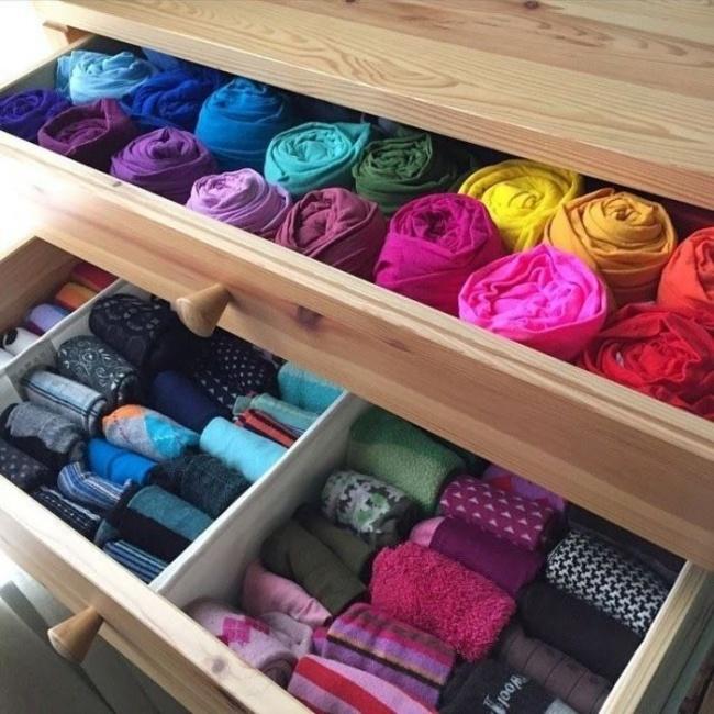9 mẹo vặt giúp bạn có tủ quần áo gọn gàng đón năm mới - Ảnh 5.