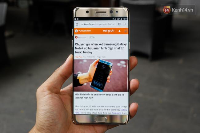 Samsung Galaxy Note7: ấn tượng từ cái chạm đầu tiên - Ảnh 2.
