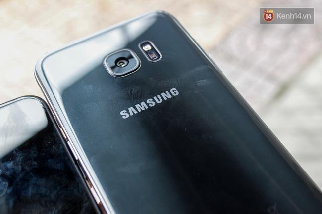 iPhone 7 có màu đen bóng, Galaxy S7 edge mới cũng có, hãy thử đọ dáng xem ai đẹp hơn - Ảnh 9.