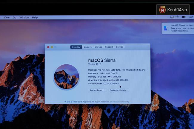 Cận cảnh MacBook Pro 2016 tại Việt Nam: Mỏng kinh ngạc, đẹp ấn tượng, dùng cực đã! - Ảnh 13.