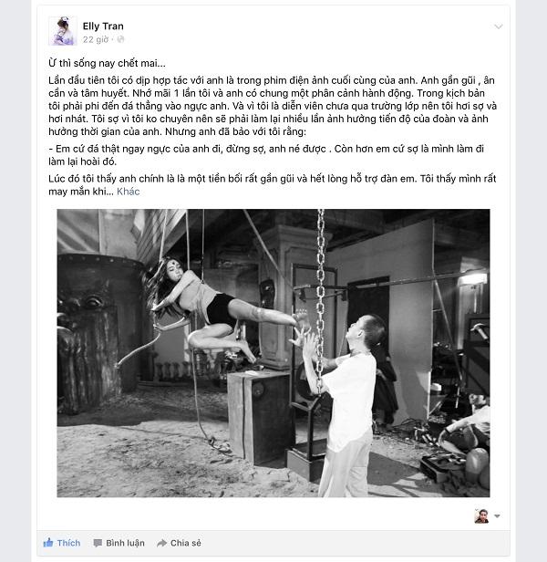 Công bố những hình ảnh cuối cùng của Minh Thuận trên phim trường - Ảnh 12.