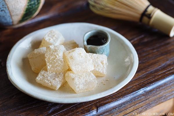Cách làm warabi mochi - món bánh sang chảnh chỉ quý tộc Nhật Bản mới ăn - Ảnh 9.