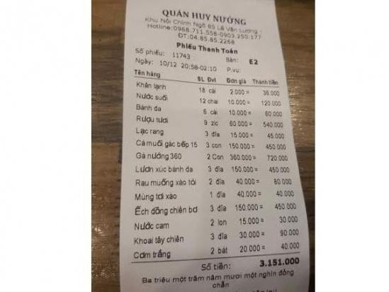 Hà Nội: Gần 40 thanh niên quỵt tiền quán nướng, đánh nữ nhân viên thu ngân - Ảnh 1.
