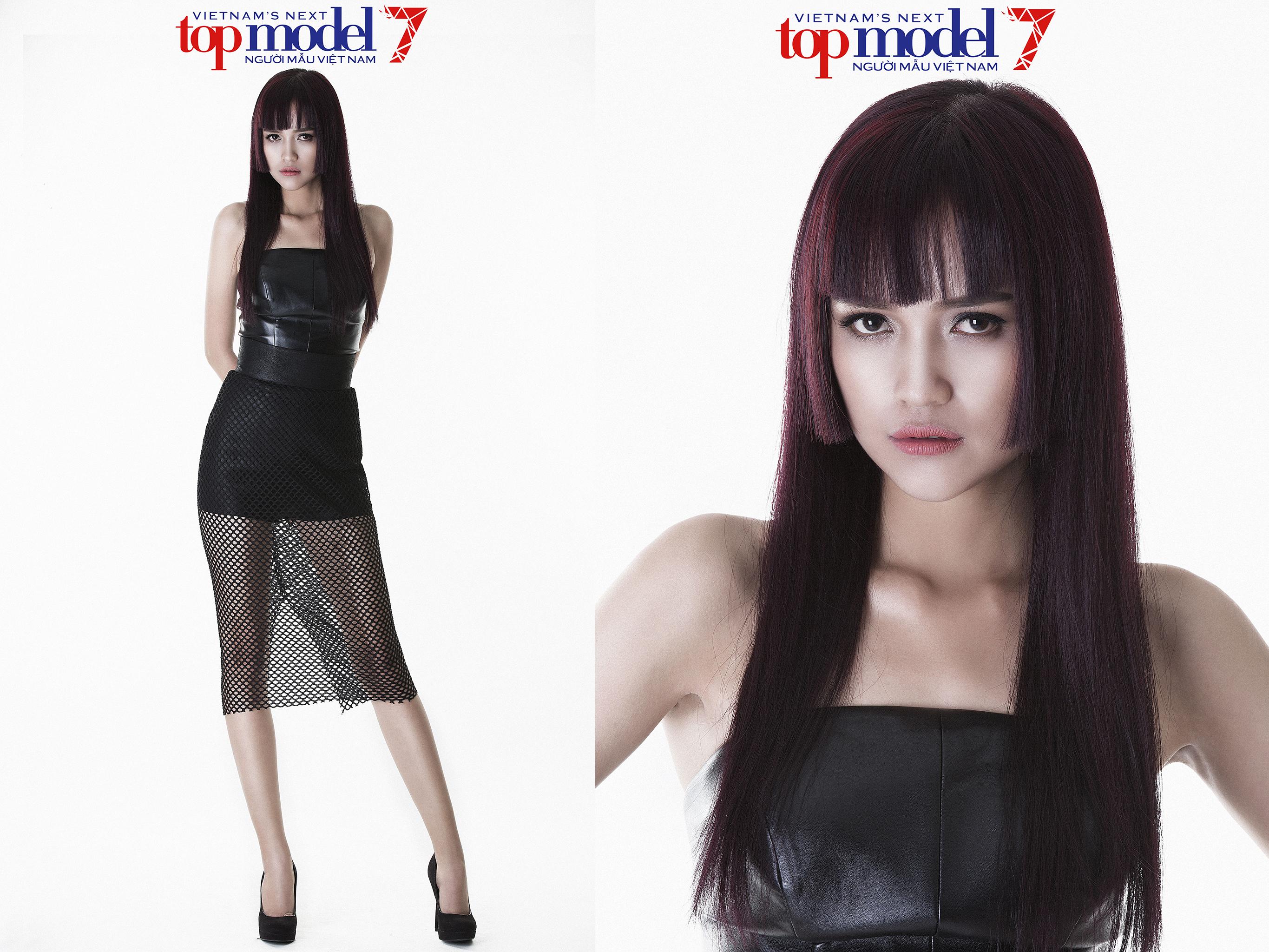Kết quả hình ảnh cho ngọc châu - vietnam's next top model