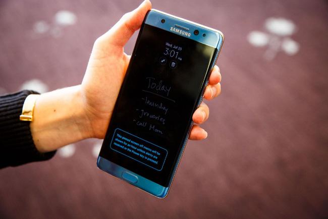 Chuyên gia nhận xét Samsung Galaxy Note7 sở hữu màn hình đẹp nhất từ trước tới nay