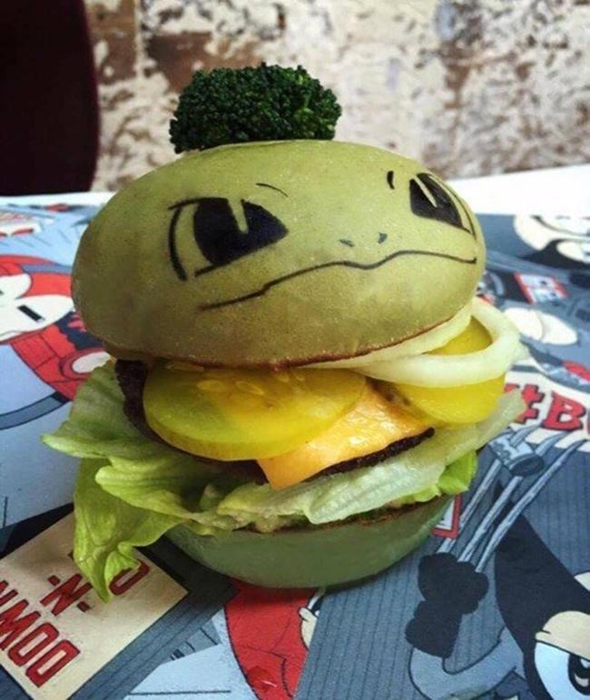 Không phải fan ruột, bạn cũng muốn thưởng thức đủ bộ hamburger Pokémon đã ngon lại còn đẹp - Ảnh 4.