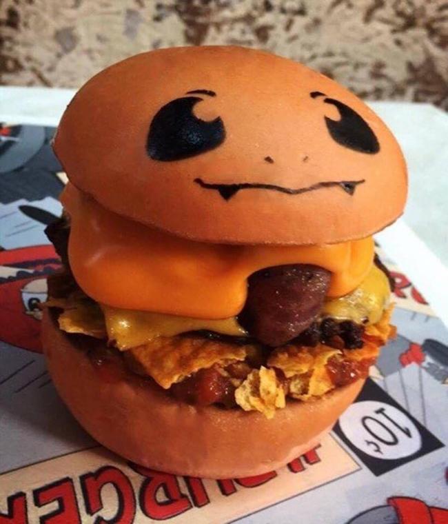 Không phải fan ruột, bạn cũng muốn thưởng thức đủ bộ hamburger Pokémon đã ngon lại còn đẹp - Ảnh 5.