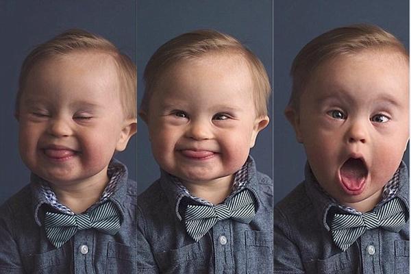 Tình yêu vĩ đại của người mẹ phía sau bức ảnh cậu bé mắc hội chứng Down với hơn 120.000 lượt chia sẻ - Ảnh 1.