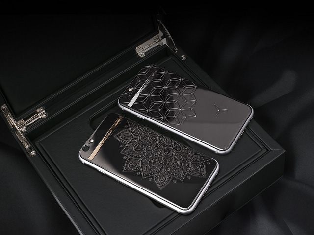 Chiêm ngưỡng iPhone 7 đẹp lấp lánh kim cương khó cưỡng - Ảnh 2.