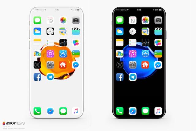 Ngắm iPhone 8 không viền màn hình đẹp xuất sắc, fan Táo sẽ sướng run người cho mà xem - Ảnh 1.