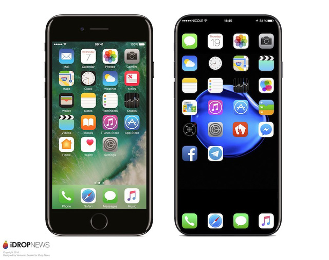 Ngắm iPhone 8 không viền màn hình đẹp xuất sắc, fan Táo sẽ sướng run người cho mà xem - Ảnh 3.