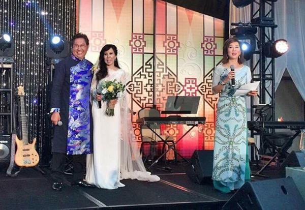 Giọng ca hải ngoại Mai Thiên Vân kết hôn với bạn trai quen 10 năm - Ảnh 2.