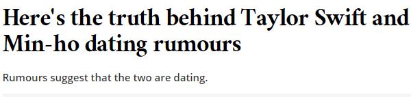 Hết Zac Efron, Taylor Swift giờ lại bị đồn để ý đến cả Lee Min Ho - Ảnh 2.