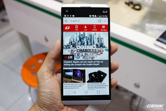 Trên tay siêu phẩm LG V20 tại Việt Nam: ngoại hình cứng cáp hơn, trang bị camera kép, giá gần 17 triệu đồng - Ảnh 1.