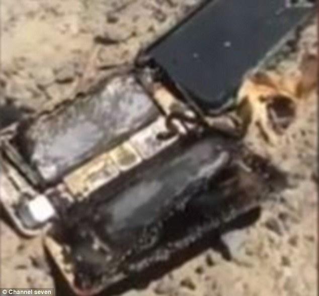 iPhone 7 vừa mới mua đã phát nổ kinh hoàng, đốt cháy cả xe hơi - Ảnh 2.