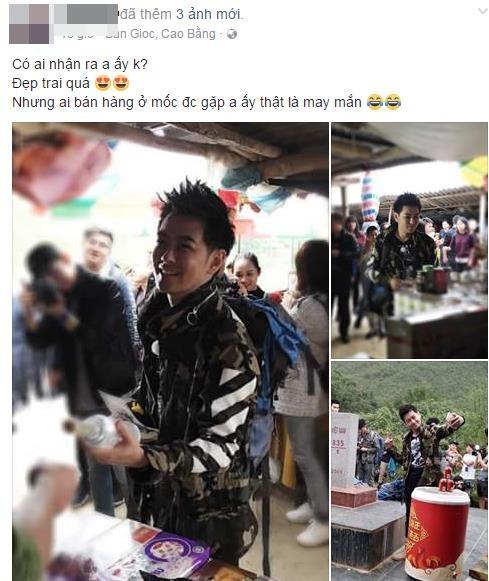 Rộ hình ảnh Lâm Chí Dĩnh, Quách Phú Thành cùng dàn sao nam đình đám Cbiz có mặt tại Cao Bằng, Việt Nam - Ảnh 1.