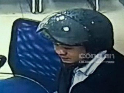 Hình ảnh rõ mặt tên cướp ngân hàng BIDV tại Huế - Ảnh 1.