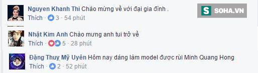 Đây là phản ứng của bạn bè, đồng nghiệp khi Minh Béo về Việt Nam - Ảnh 1.