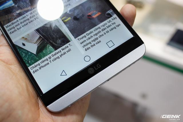 Trên tay siêu phẩm LG V20 tại Việt Nam: ngoại hình cứng cáp hơn, trang bị camera kép, giá gần 17 triệu đồng - Ảnh 10.