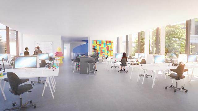 Chiêm ngưỡng trụ sở tuyệt đẹp mới của LEGO, trông như đồ chơi cỡ lớn - Ảnh 11.