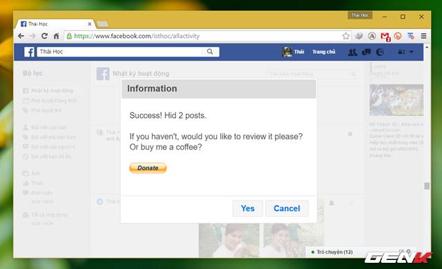 Hướng dẫn dọn sạch tường Facebook để đảm bảo không ai soi mói, đánh giá - Ảnh 11.