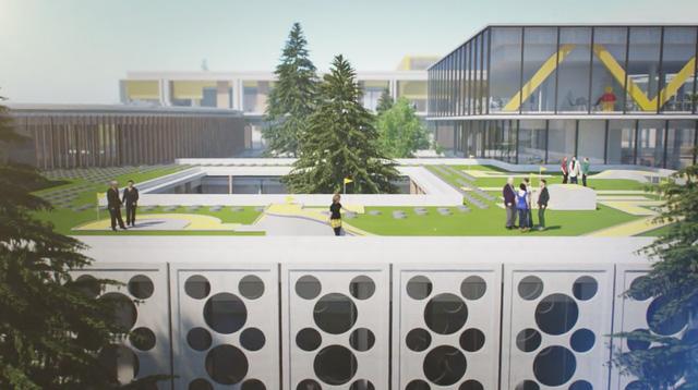 Chiêm ngưỡng trụ sở tuyệt đẹp mới của LEGO, trông như đồ chơi cỡ lớn - Ảnh 12.
