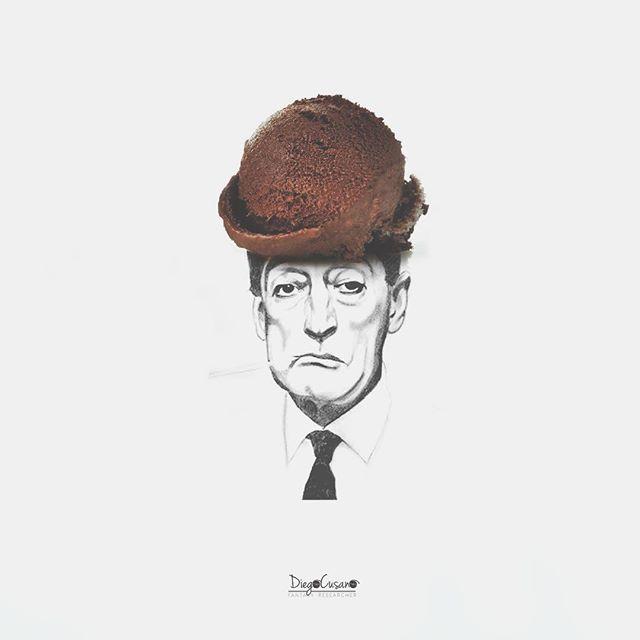 Chán tranh vẽ màu, chàng nghệ sĩ chuyển sang vẽ tranh tương tác ngộ nghĩnh bằng đồ ăn - Ảnh 12.