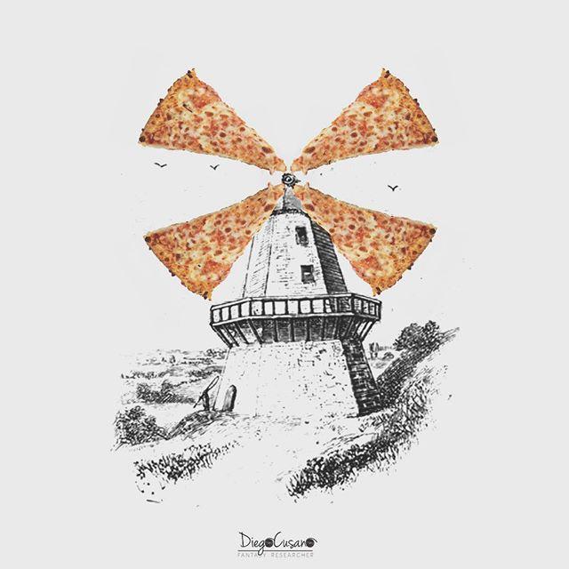 Chán tranh vẽ màu, chàng nghệ sĩ chuyển sang vẽ tranh tương tác ngộ nghĩnh bằng đồ ăn - Ảnh 13.