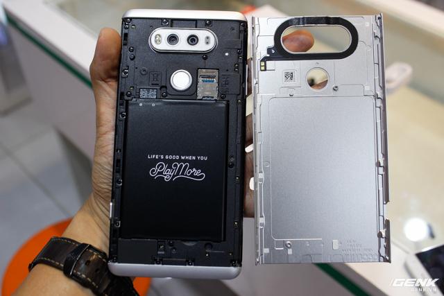 Trên tay siêu phẩm LG V20 tại Việt Nam: ngoại hình cứng cáp hơn, trang bị camera kép, giá gần 17 triệu đồng - Ảnh 16.