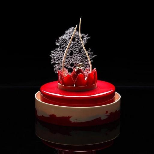 Bộ sưu tập bánh ngọt kỳ thú lấy cảm hứng từ bộ môn hình học - Ảnh 17.