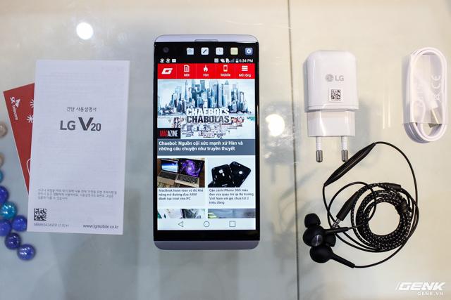 Trên tay siêu phẩm LG V20 tại Việt Nam: ngoại hình cứng cáp hơn, trang bị camera kép, giá gần 17 triệu đồng - Ảnh 19.