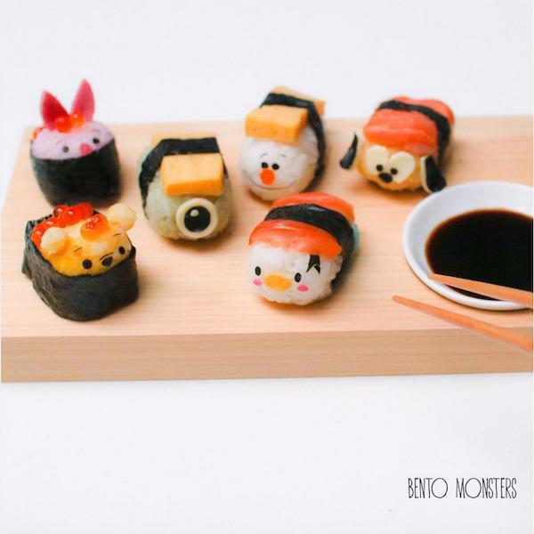 Bộ sưu tập sushi cực dễ thương khiến bé chẳng bao giờ từ chối bữa ăn - Ảnh 3.
