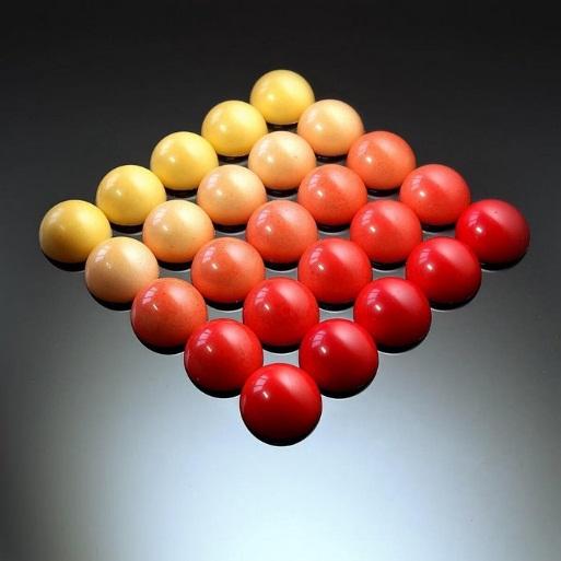 Bộ sưu tập bánh ngọt kỳ thú lấy cảm hứng từ bộ môn hình học - Ảnh 2.