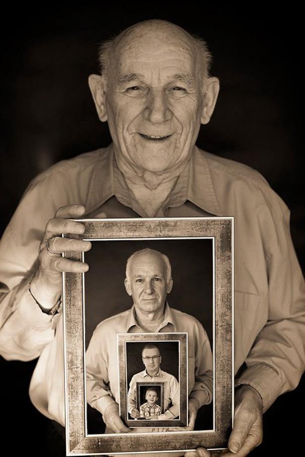 Nhìn 15 bức ảnh gia đình này, bạn sẽ nhớ ông bà của mình rất nhiều - Ảnh 3.