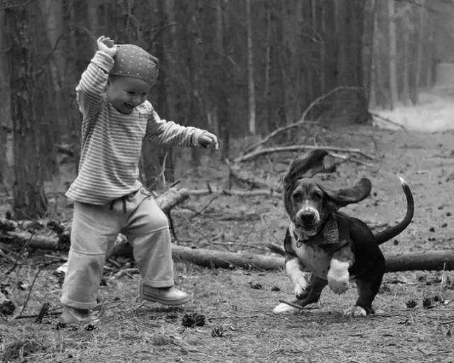 22 tình bạn đáng ngưỡng mộ của trẻ con và thú cưng - Ảnh 21.