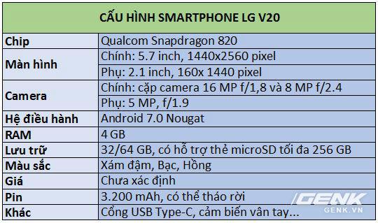 Trên tay siêu phẩm LG V20 tại Việt Nam: ngoại hình cứng cáp hơn, trang bị camera kép, giá gần 17 triệu đồng - Ảnh 25.