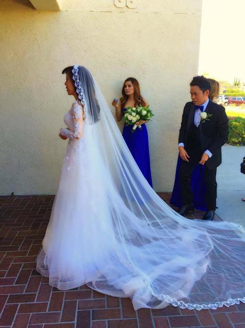 Giọng ca hải ngoại Mai Thiên Vân kết hôn với bạn trai quen 10 năm - Ảnh 4.