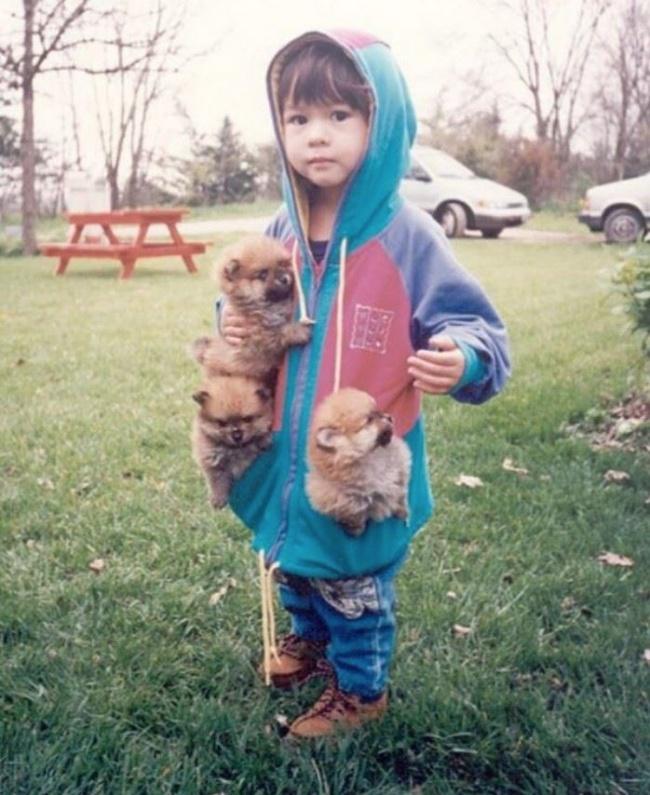 22 tình bạn đáng ngưỡng mộ của trẻ con và thú cưng - Ảnh 3.