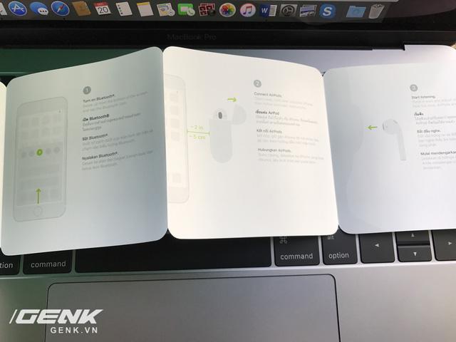 Trên tay AirPods, tai nghe không dây nhiều tai tiếng của Apple vừa xuất hiện tại Việt Nam - Ảnh 4.