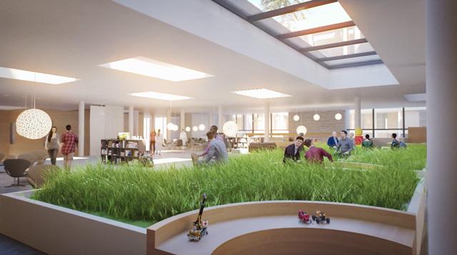 Chiêm ngưỡng trụ sở tuyệt đẹp mới của LEGO, trông như đồ chơi cỡ lớn - Ảnh 4.