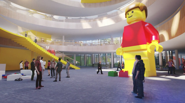 Chiêm ngưỡng trụ sở tuyệt đẹp mới của LEGO, trông như đồ chơi cỡ lớn - Ảnh 5.