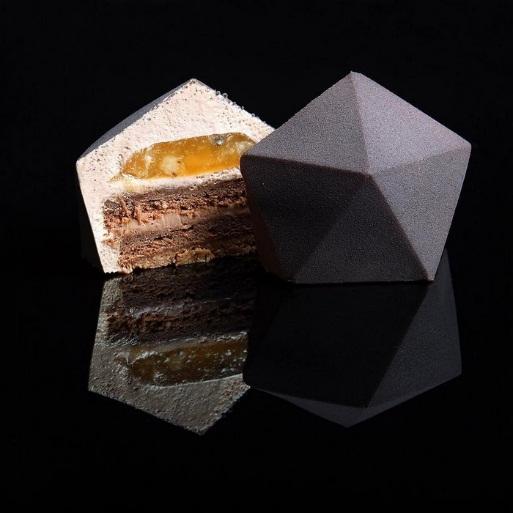 Bộ sưu tập bánh ngọt kỳ thú lấy cảm hứng từ bộ môn hình học - Ảnh 5.