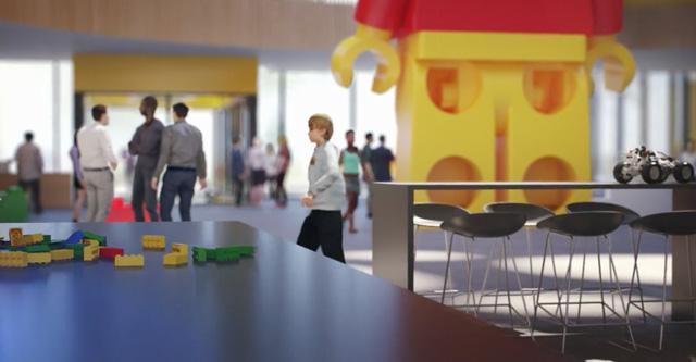 Chiêm ngưỡng trụ sở tuyệt đẹp mới của LEGO, trông như đồ chơi cỡ lớn - Ảnh 6.