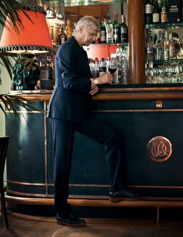 Bài phỏng vấn đặc biệt Arsene Wenger: Chúa tạo ra con người, còn tôi dẫn lối họ chơi đẹp - Ảnh 6.